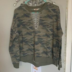 Camouflage Long-sleeve